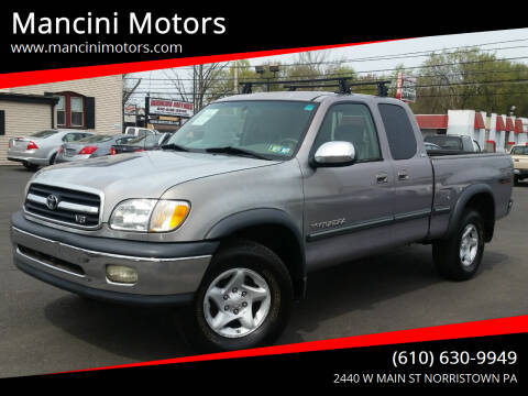 2002 Toyota Tundra for sale at Mancini Motors in Norristown PA