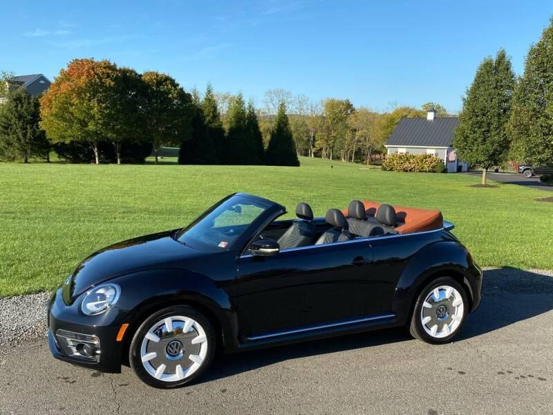 2019 Volkswagen Beetle Convertible for sale at Blue Line Motors in Winchester VA