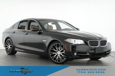 2015 BMW 5 Series for sale at JumboAutoGroup.com - Carsntoyz.com in Hollywood FL