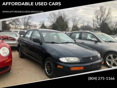 1996 Mazda Protege for sale at AFFORDABLE USED CARS in Richmond VA