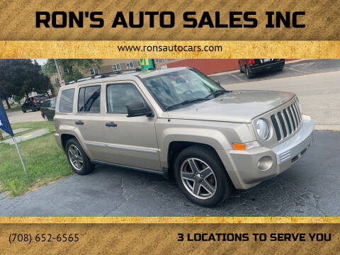2009 Jeep Patriot for sale at RON'S AUTO SALES INC in Cicero IL