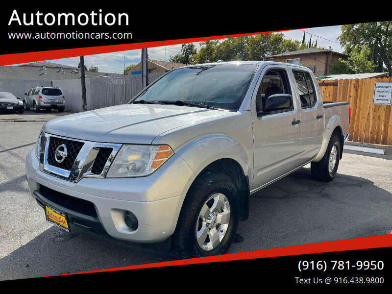2012 Nissan Frontier for sale at Automotion in Roseville CA