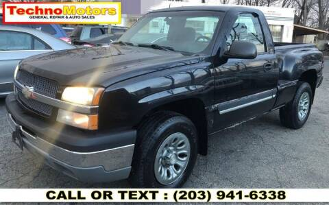 2003 Chevrolet Silverado 1500 for sale at Techno Motors in Danbury CT