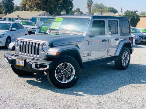 2019 Jeep Wrangler Unlimited for sale at LA PLAYITA AUTO SALES INC in South Gate CA