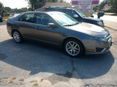 2012 Ford Fusion for sale at Auto Brokers of Milford in Milford NH