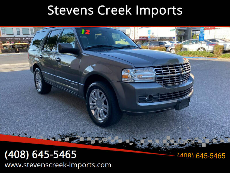 2012 Lincoln Navigator for sale at Stevens Creek Imports in San Jose CA