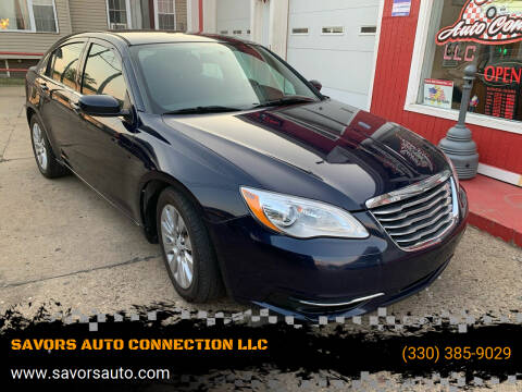 2013 Chrysler 200 for sale at SAVORS AUTO CONNECTION LLC in East Liverpool OH