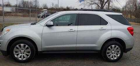 2012 Chevrolet Equinox for sale at Superior Motors in Mount Morris MI