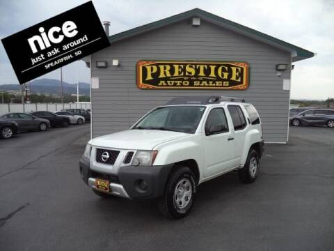 2014 Nissan Xterra for sale at PRESTIGE AUTO SALES in Spearfish SD