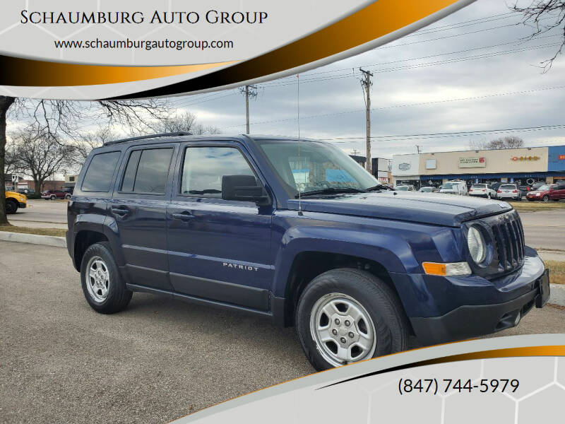 2016 Jeep Patriot for sale at Schaumburg Auto Group in Schaumburg IL