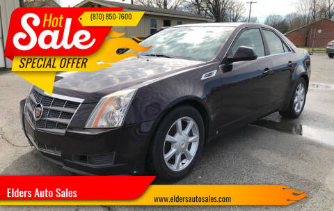 2008 Cadillac CTS for sale at Elders Auto Sales in Pine Bluff AR