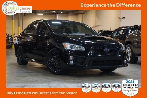 2019 Subaru WRX for sale at Dallas Auto Finance in Dallas TX