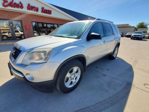 2010 GMC Acadia for sale at Eden's Auto Sales in Valley Center KS