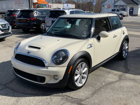 2012 MINI Cooper Hardtop for sale at Ludlow Auto Sales in Ludlow MA