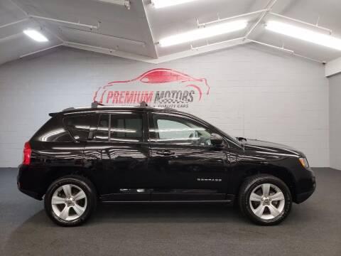 2013 Jeep Compass for sale at Premium Motors in Villa Park IL
