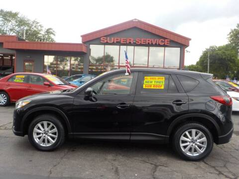 2013 Mazda CX-5 for sale at Super Service Used Cars in Milwaukee WI