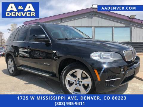2013 BMW X5 for sale at A & A AUTO LLC in Denver CO
