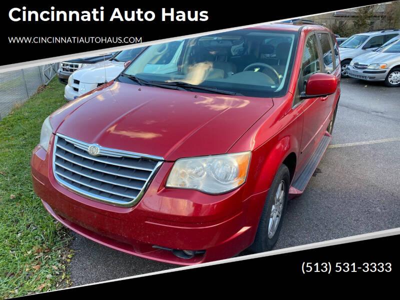 2008 Chrysler Town and Country for sale at Cincinnati Auto Haus in Cincinnati OH