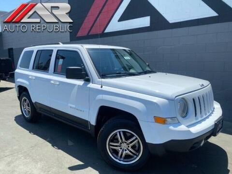 2015 Jeep Patriot for sale at Auto Republic Fullerton in Fullerton CA