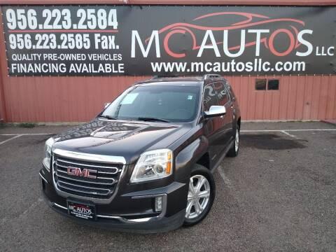 2016 GMC Terrain for sale at MC Autos LLC in Pharr TX