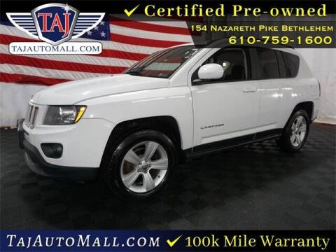 2014 Jeep Compass for sale at Taj Auto Mall in Bethlehem PA