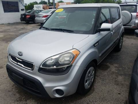 2013 Kia Soul for sale at P S AUTO ENTERPRISES INC in Miramar FL