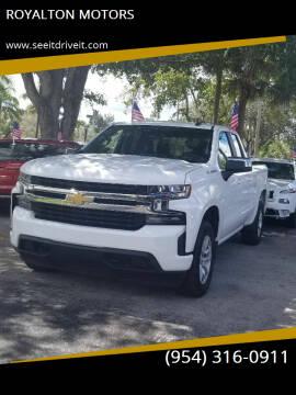 2020 Chevrolet Silverado 1500 for sale at ROYALTON MOTORS in Plantation FL