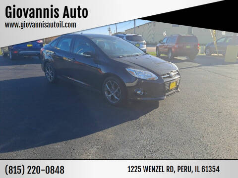 2013 Ford Focus for sale at Giovannis Auto in Peru IL