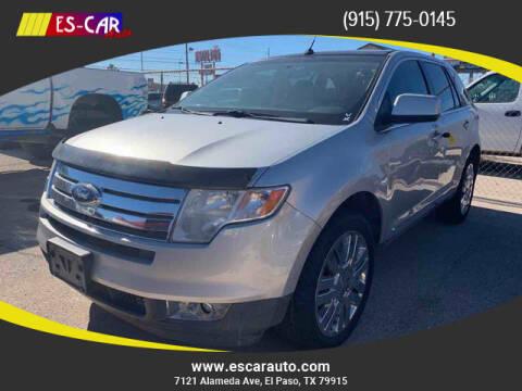 2009 Ford Edge for sale at Escar Auto in El Paso TX