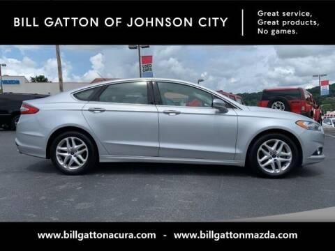 2015 Ford Fusion for sale at Bill Gatton Used Cars - BILL GATTON ACURA MAZDA in Johnson City TN