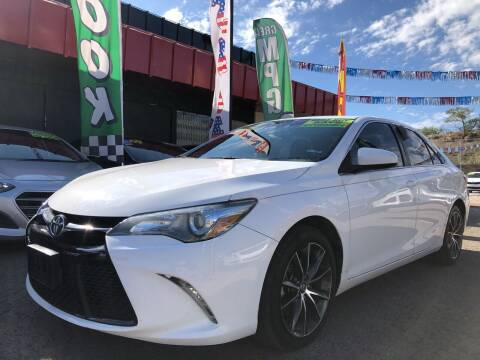 2016 Toyota Camry for sale at Duke City Auto LLC in Gallup NM