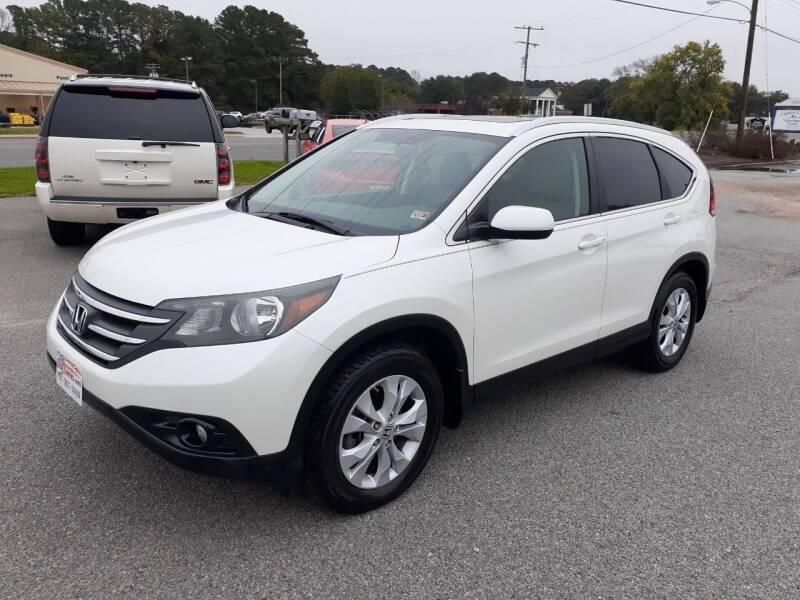 2013 Honda CR-V for sale at USA 1 Autos in Smithfield VA
