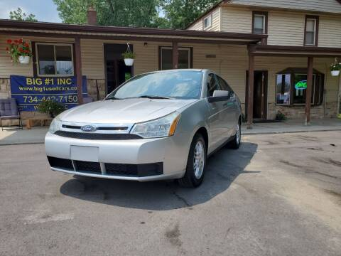 2010 Ford Focus for sale at BIG #1 INC in Brownstown MI