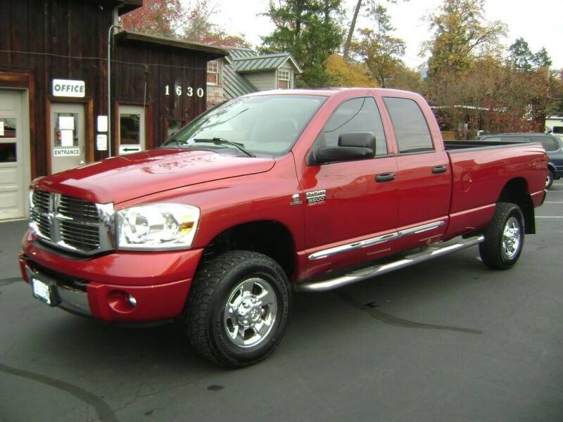 2008 Dodge Ram Pickup 3500 for sale at Jim Clarks Consignment Country - Vehicles in Grants Pass OR