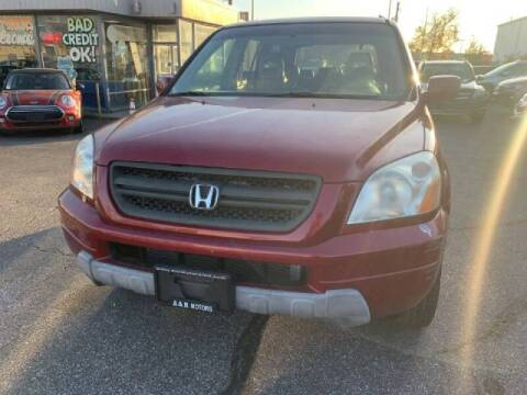 2005 Honda Pilot for sale at A&R Motors in Baltimore MD