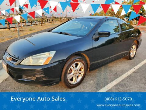 2007 Honda Accord for sale at Everyone Auto Sales in Santa Clara CA