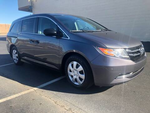 2016 Honda Odyssey for sale at GTO United Auto Sales LLC in Lawrenceville GA