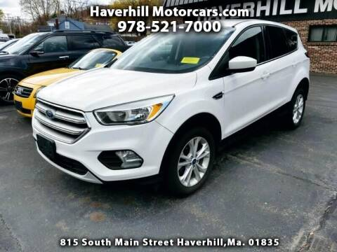 2017 Ford Escape for sale at 125 Auto Finance in Haverhill MA
