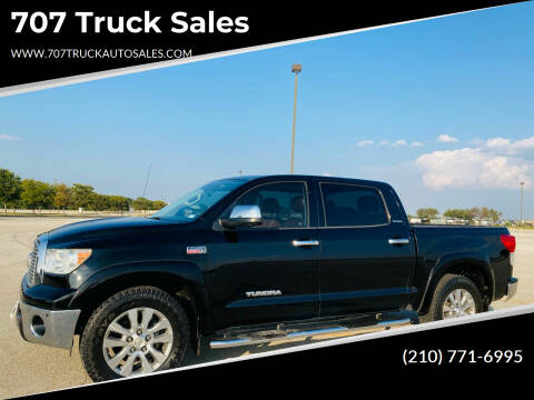 2012 Toyota Tundra for sale at 707 Truck Sales in San Antonio TX