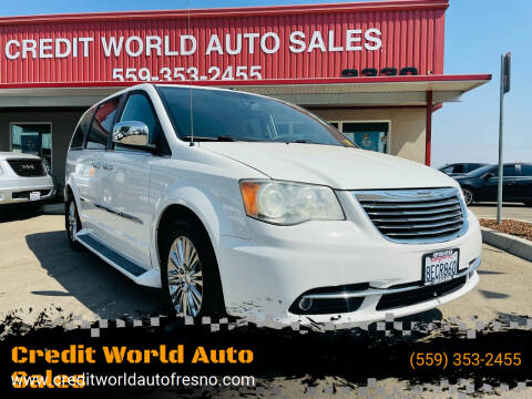 2011 Chrysler Town and Country for sale at Credit World Auto Sales in Fresno CA