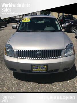 2006 Mercury Montego for sale at Worldwide Auto Sales in Fall River MA