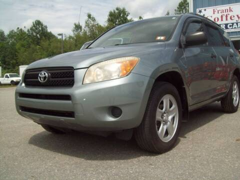 2008 Toyota RAV4 for sale at Frank Coffey in Milford NH