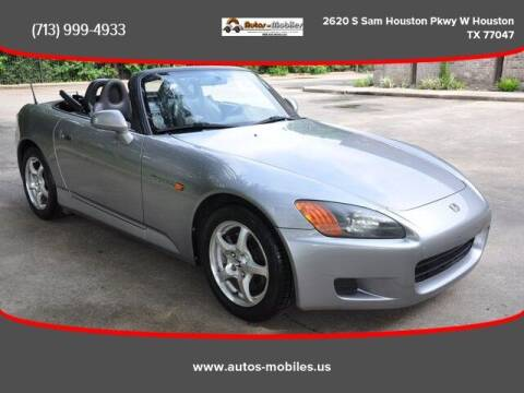 2001 Honda S2000 for sale at AUTOS-MOBILES in Houston TX