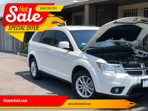 2015 Dodge Journey for sale at AllanteAuto.com in Santa Ana CA