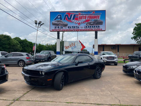 2019 Dodge Challenger for sale at ANF AUTO FINANCE in Houston TX