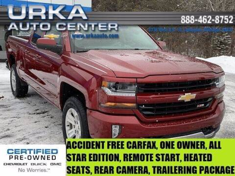 2018 Chevrolet Silverado 1500 for sale at Urka Auto Center in Ludington MI