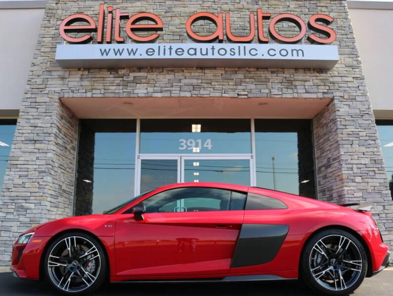 2020 Audi R8 for sale at Elite Autos LLC in Jonesboro AR