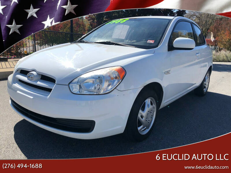 2010 Hyundai Accent for sale at 6 Euclid Auto LLC in Bristol VA