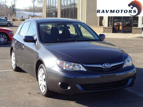 2011 Subaru Impreza for sale at RAVMOTORS 2 in Crystal MN