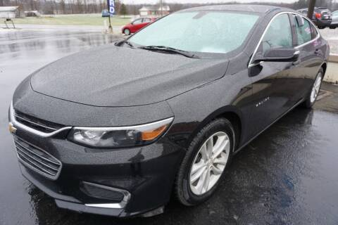 2017 Chevrolet Malibu for sale at MyEzAutoBroker.com in Mount Vernon OH